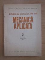 Anticariat: Studii si cercetari de mecanica aplicata, tomul 48, nr. 3, mai-iunie 1989