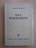 Anticariat: A. Ehringhaus - Das Mikroskop