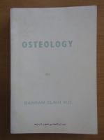 Anticariat: Bahram Elahi - Osteology