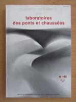 Anticariat: Bulletin de liaison des laboratoires des ponts et chaussees, nr. 113, mai-iunie 1981