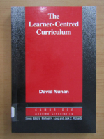 Anticariat: David Nunan - The Learner Centred Curriculum