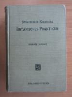 Anticariat: E. Strasburger das Botanisches Praktikum