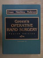 Anticariat: Green's Operative Hand Surgery (volumul 2)