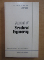 Anticariat: Journal of Structural Engineering, volumul 110, nr. 12, decembrie 1984