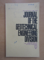 Anticariat: Journal of the Geotechnical Engineering Division, volumul 100, nr. 12, decembrie 1974