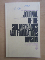Anticariat: Journal of the Soil Mechanics and Foundations Division, volumul 99, nr. 8, august 1973