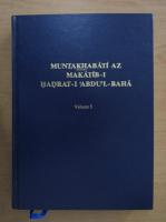 Muntakhabati Az Makatib-I Hadrat-I Abdu'L-Baha (volumul 5)