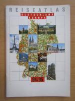 Reise Atlas Deutschland Europa