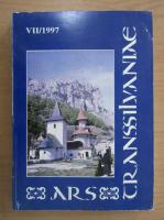 Anticariat: Revista Ars Transsilvaniae, nr. 7, 1997