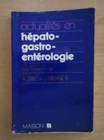 Anticariat: A. Ribet - Actualites en hepato-gastro-enterologie