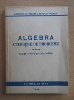 Algebra. Culegere de probleme pentru clasa a VIII-a si a IX-a medie