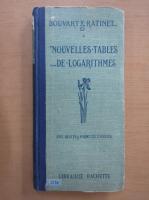 Anticariat: C. Bouvart - Nouvelles tables de logarithmes