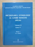Dictionarul etimologic al limbii romane (volumul 2)