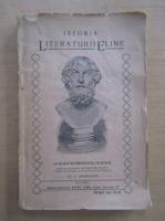 Anticariat: Ioan Georgescu - Istoria Literaturii Eline