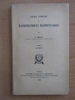 J. Haag - Cours complet de mathematiques elementaires (volumul 2)