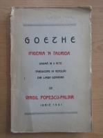 Anticariat: Johann Wolfgang Goethe - Ifigenia 'n Taurida