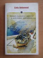 Anticariat: Liviu Antonesei - Povesti filosofice cretane si alte poezii din insule