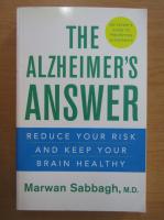 Anticariat: Marwan Sabbagh - The Alzheimer's Answer