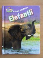 Anticariat: O lume uimitoare. Elefantii