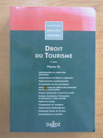 Anticariat: Pierre Py - Droit du tourisme