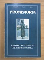 Anticariat: Promemoria, volumul 1, nr. 1-2, 2011