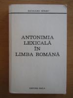 Anticariat: Richard Sirbu - Anatomia lexicala in limba romana