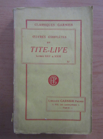 Titus Livius - Oeuvres completes