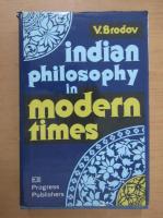 V. Brodov - Indian philosophy in modern times