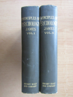 Anticariat: William James - The Principles of Psychology (2 volume)