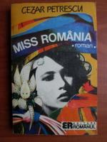 Cezar Petrescu - Miss Romania
