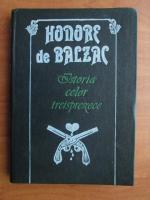 Honore de Balzac - Istoria celor treisprezece