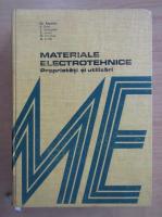 Anticariat: Christiana Popescu - Materiale electrotehnice. Proprietati si utilizari
