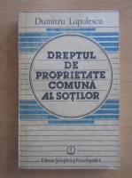 Dumitru Lupulescu - Dreptul de proprietate comuna al sotilor
