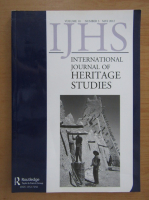 Anticariat: International Journal of Heritage Studies, volumul 18, nr. 13, mai 2012