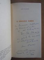 Anticariat: Ion Vlasiu - O singura iubire (cu autograful autorului)