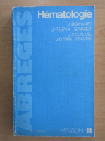 Anticariat: Jean Bernard - Hematologie