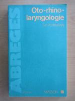 Anticariat: Michel Portmann - Oto-rhino-laryngologie