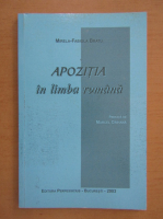 Anticariat: Mirela Fabiola Bratu - Apozitia in limba romana