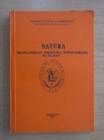 Anticariat: Natura. Supliment pentru profesori si elevi