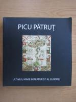 Picu Patrut, ultimul mare miniaturist al Europei (editie bilingva)