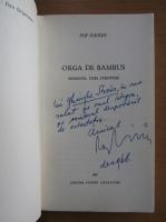 Anticariat: Pop Simion - Orga de bambus (cu autograful autorului)