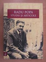 Anticariat: Radu Popa. Studii si articole (volumul 1)