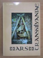 Anticariat: Revista Ars Transsilvaniae, nr. 5, 1995