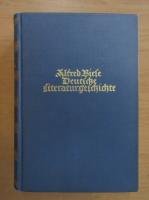 Anticariat: Alfred Biese - Deutsche Literaturgeschichte (volumul 1)