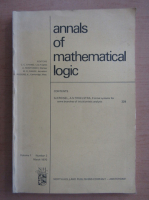 Anticariat: Annals of mathematical logic, volumul 1, nr. 3, martie 1970