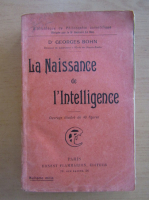 Georges Bohn - La Naissance de l'Intelligence
