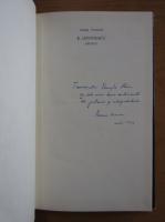 Anticariat: Ileana Vrancea - E. Lovinescu, artistul (cu autograful autorului)