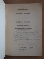 Anticariat: Ioan Jinga - Invatarea eficienta (cu autograful autorului)