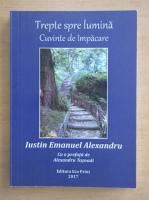 Anticariat: Iustin Emanuel - Trepte spre lumina. Cuvinte de impacare