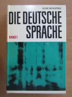 Anticariat: Kleine Enzyklopadie Die Deutsche Sprache (volumul 1)